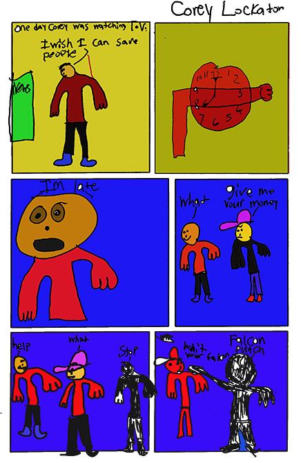 Corey Lockaton's Comic