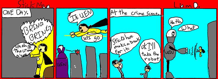 Liam's Comic Strip (#1)