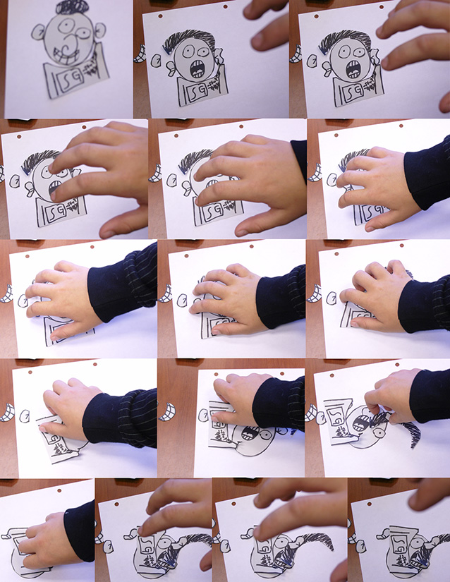 Student Photo/Drawing Comic