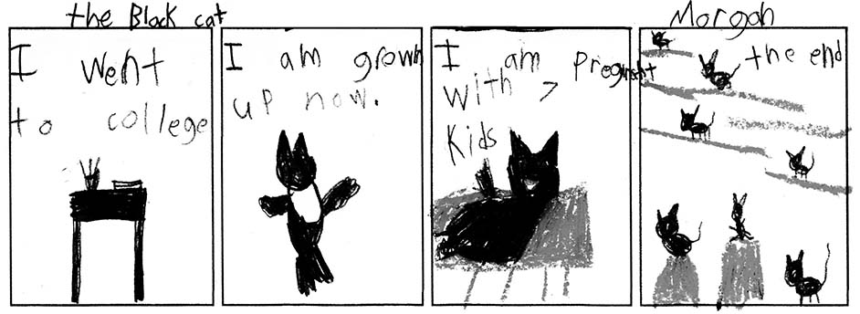 Morgan's Comic Strip (#6 of 6)