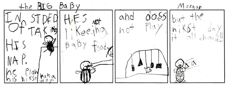Morgan's Comic Strip (#4 of 6)
