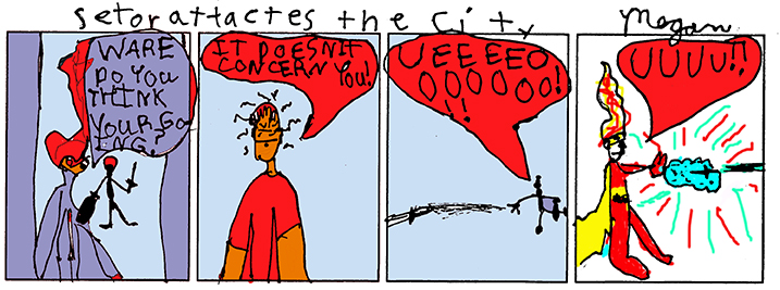 Megan Muther's Comic!