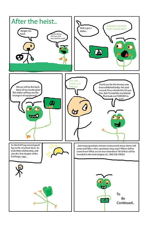 The Evil Frog (page 3)