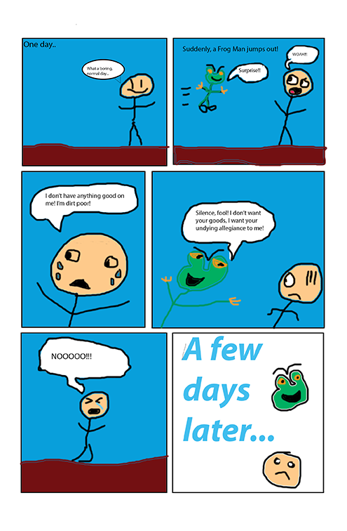 The Evil Frog (page 1)